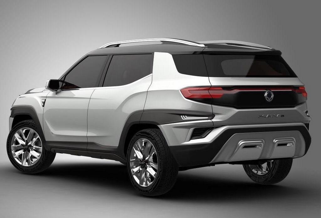 SsangYong XAVL Concept Previews Next Gen Mahindra MPV