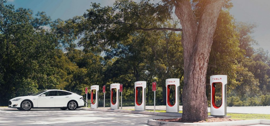 Tesla Supercharger Stations India