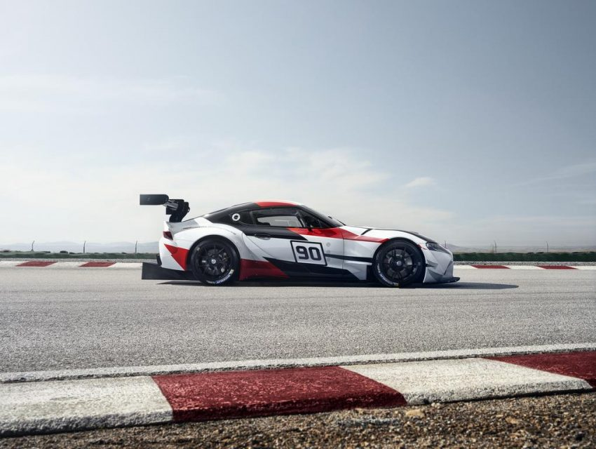 2019 Toyota Supra Sportscar Previewed In Aggressive Racing