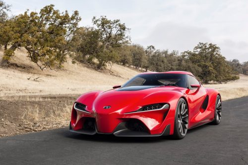 Toyota Supra Concept is based on the FT-1 Concept 1