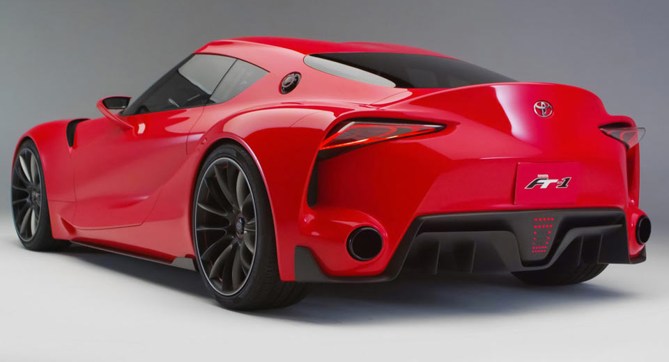 Toyota Supra Concept is based on the FT-1 Concept