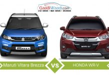 maruti brezza vs honda wr-v comparison1