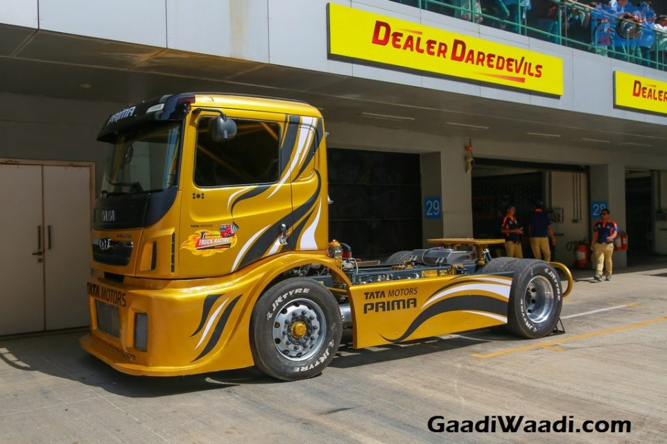 1,100 HP Tata T1 Prima Race Truck, 0-160 KMPH Claimed in Under 10 Seconds Cummins
