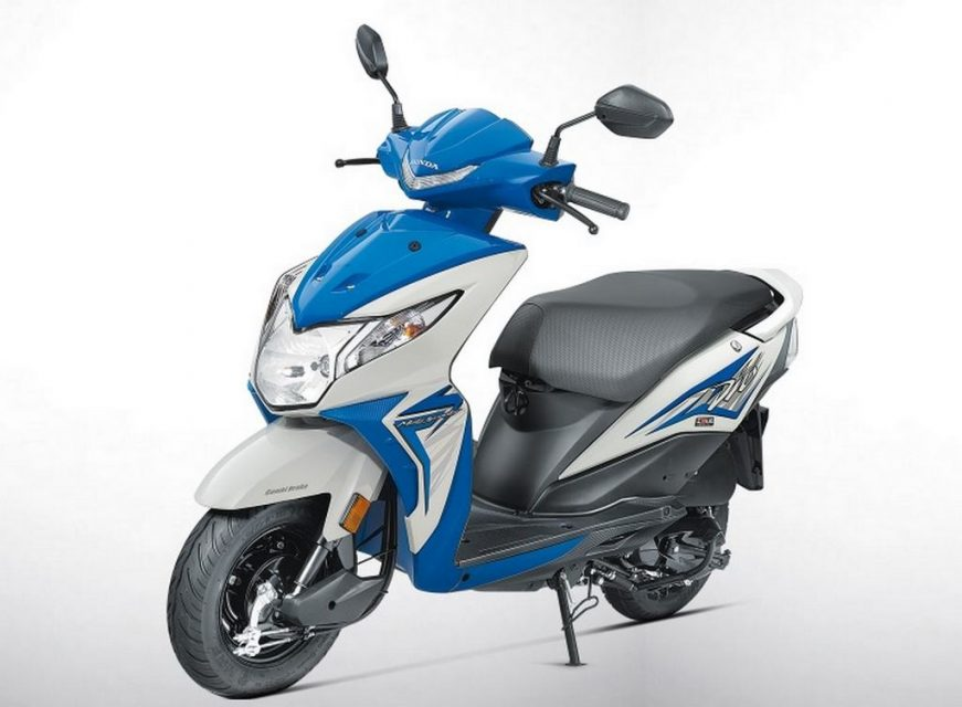 2017 Honda Dio Launched in India Price Engine Specs BSIV 4