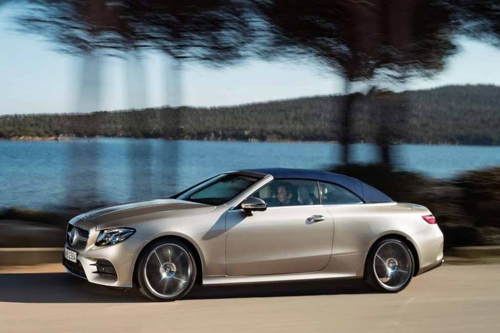 scintillating new mercedes e class cabriolet launched in us. Black Bedroom Furniture Sets. Home Design Ideas