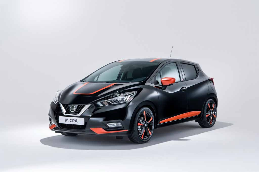 nissan micra bose limited edition displayed at geneva motor show. Black Bedroom Furniture Sets. Home Design Ideas