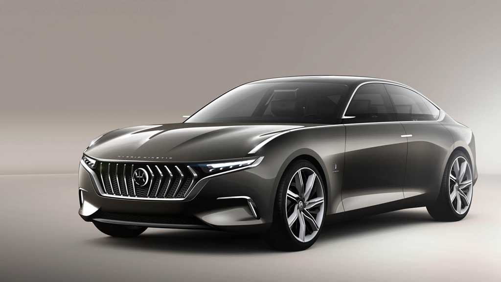 mahindra owned pininfarina reveals h600 sedan concept in geneva. Black Bedroom Furniture Sets. Home Design Ideas