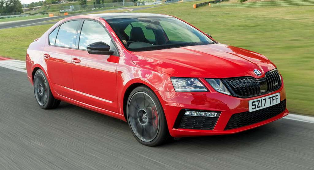 most powerful skoda octavia rs 245 launched in uk. Black Bedroom Furniture Sets. Home Design Ideas