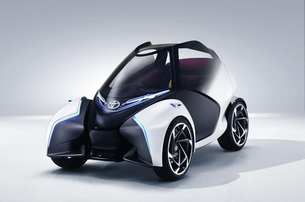 Toyota 7 Seater Cars >> Three-Seater Toyota i-TRIL Concept Showcased at Geneva Motor Show