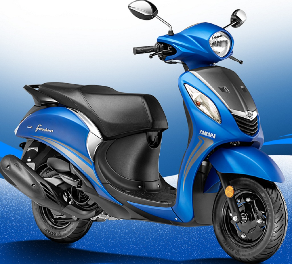 2017 Yamaha Fascino India 2
