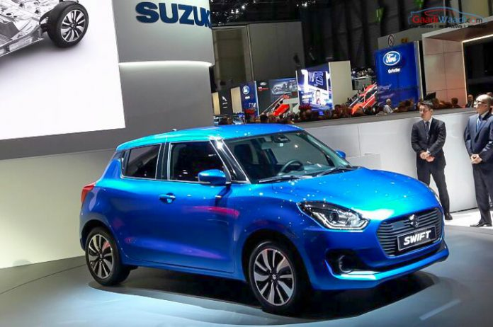 2017 maruti suzuki swift india geneva
