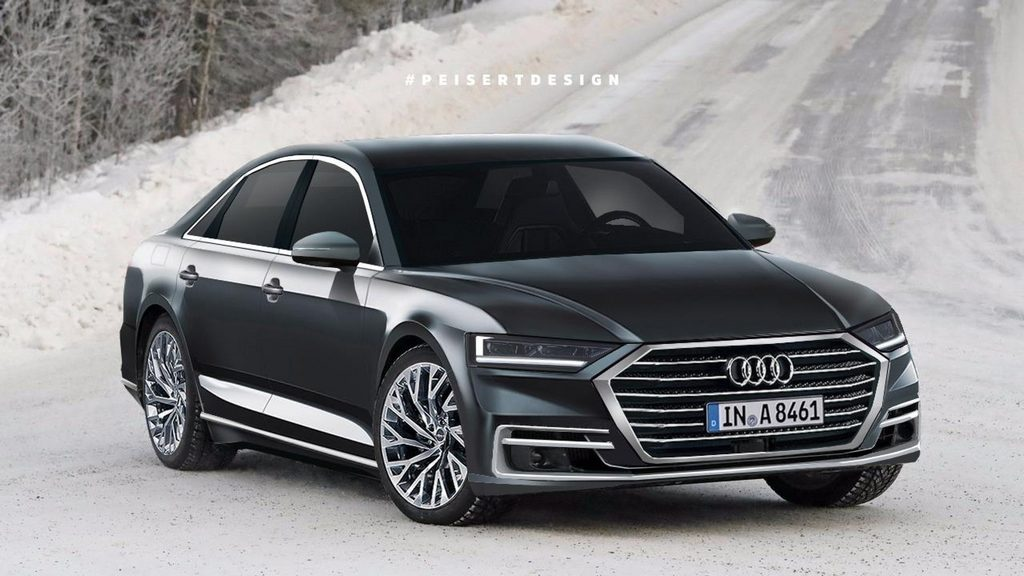 New Generation Audi A8 Flagship Sedan Rendered In Stylish