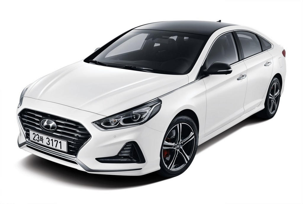 Hyundai Sonata Hybrid 2018 >> 2018 Hyundai Sonata Facelift Launched in Korea with Upgraded Look