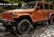 2018 Jeep Wrangler Rendered