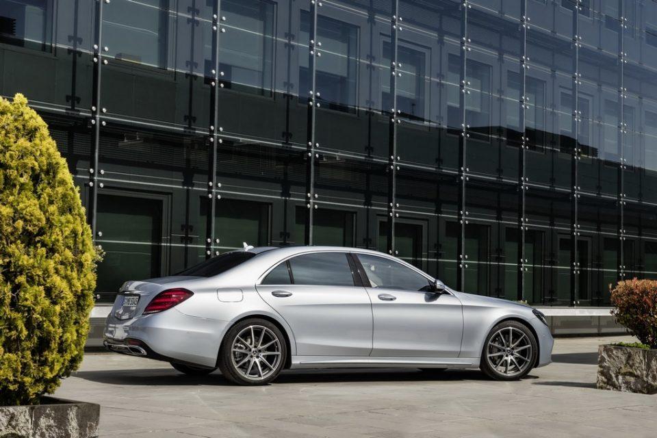 2018 Mercedes S-Class Facelift 4