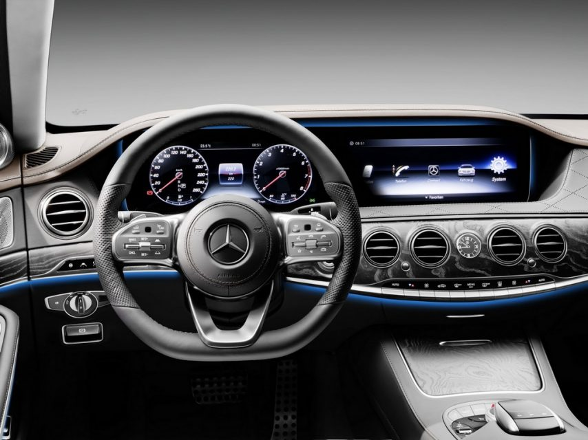 2018 Mercedes S-Class Facelift Interior
