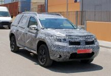 2018 Renault Duster Spied 1