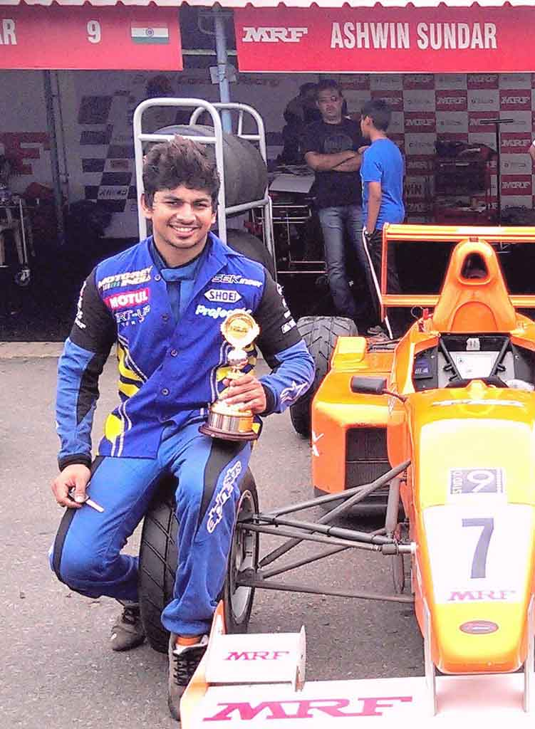 4eec0956234a Former National Racing Champion Ashwin Sundar Died in Road Accident