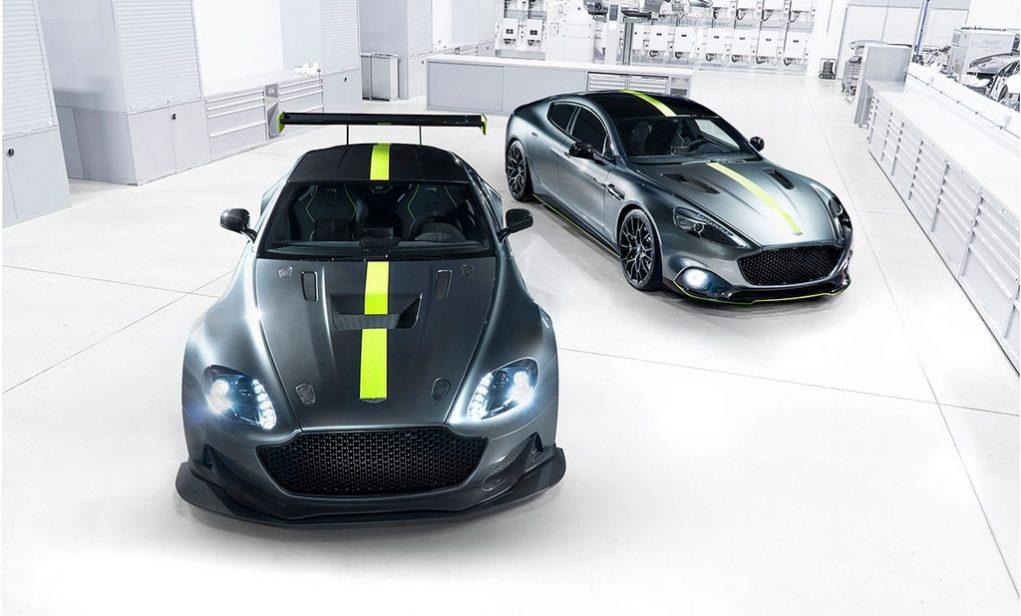 Aston Martin Vantage AMR Pro and Rapide AMR