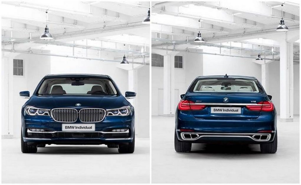 BMW Individual 7 Series THE NEXT 100 YEARS Edition 1
