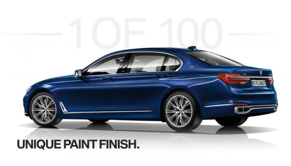 BMW Individual 7 Series THE NEXT 100 YEARS Edition 2