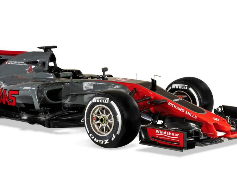 Haas F1 Team VF-17 F1 Car Livery