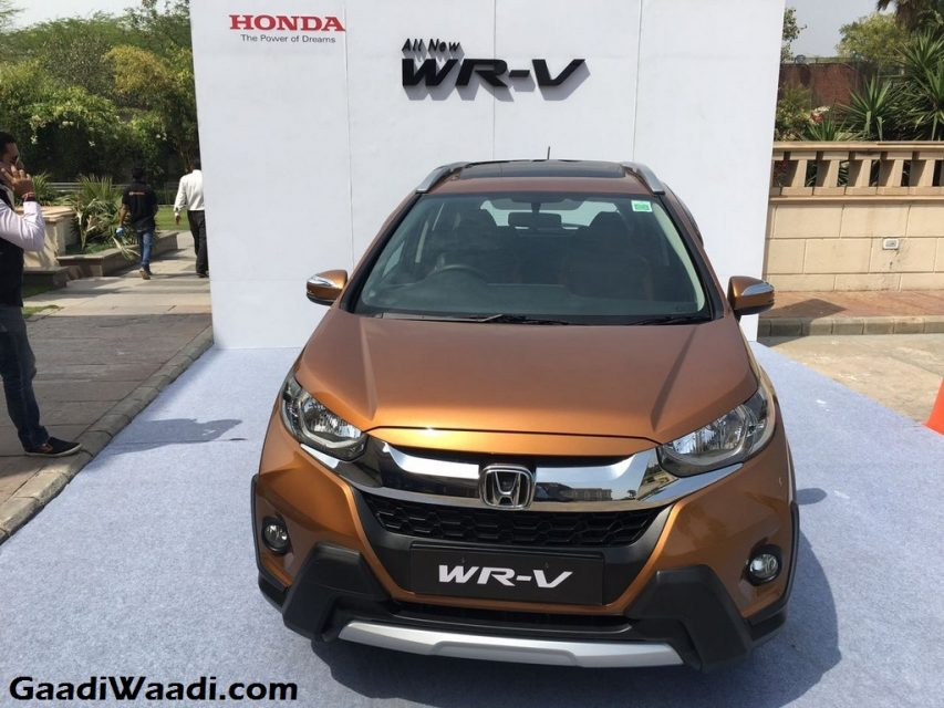 Honda WR-V Launched in India Price Engine Specs Features Review 1