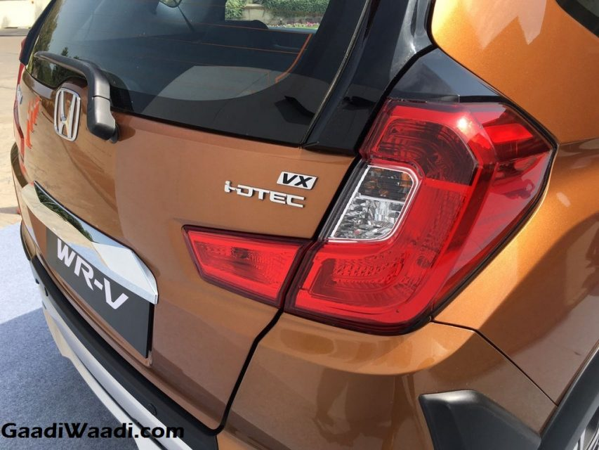 Honda WR-V Launched in India Price Engine Specs Features Review 3