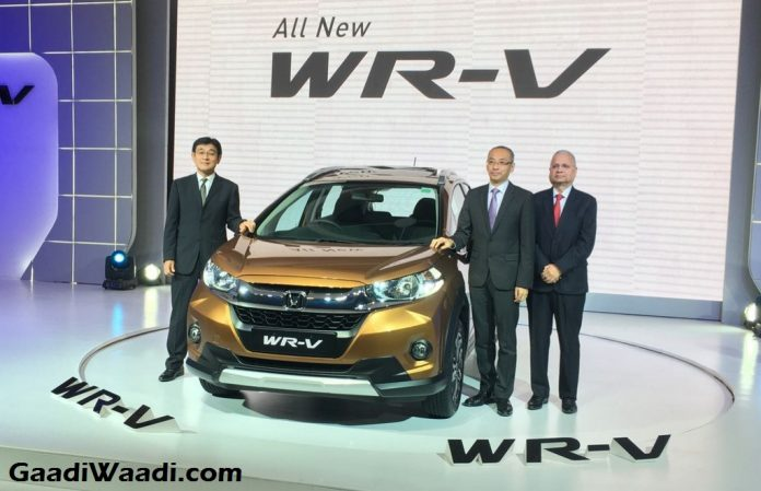 Honda WR-V Launched in India Price Engine Specs Features Review