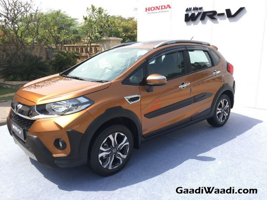 Honda WR-V Launched in India Price Engine Specs Features Review 8