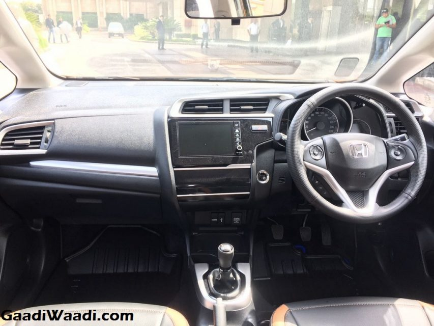 Honda WR-V Launched in India Price Engine Specs Features Review interior