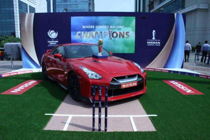 ICC Champions Trophy 2017 Nissan Trophy Tour (3)