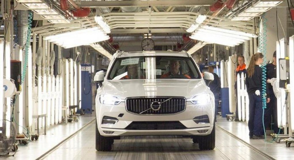 India-Bound 2018 Volvo XC60's Production Begins in Sweden