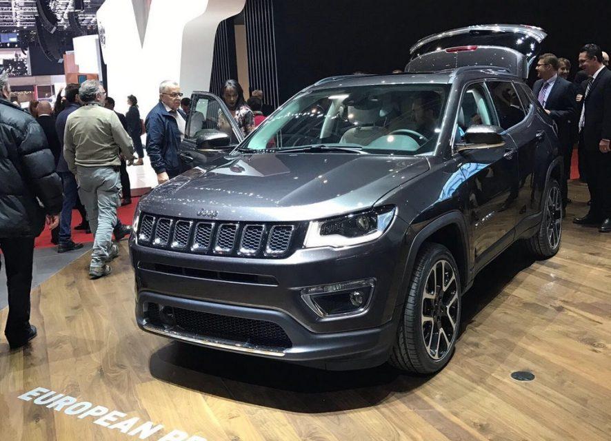 Jeep Compass SUV Makes European Debut at Geneva 1