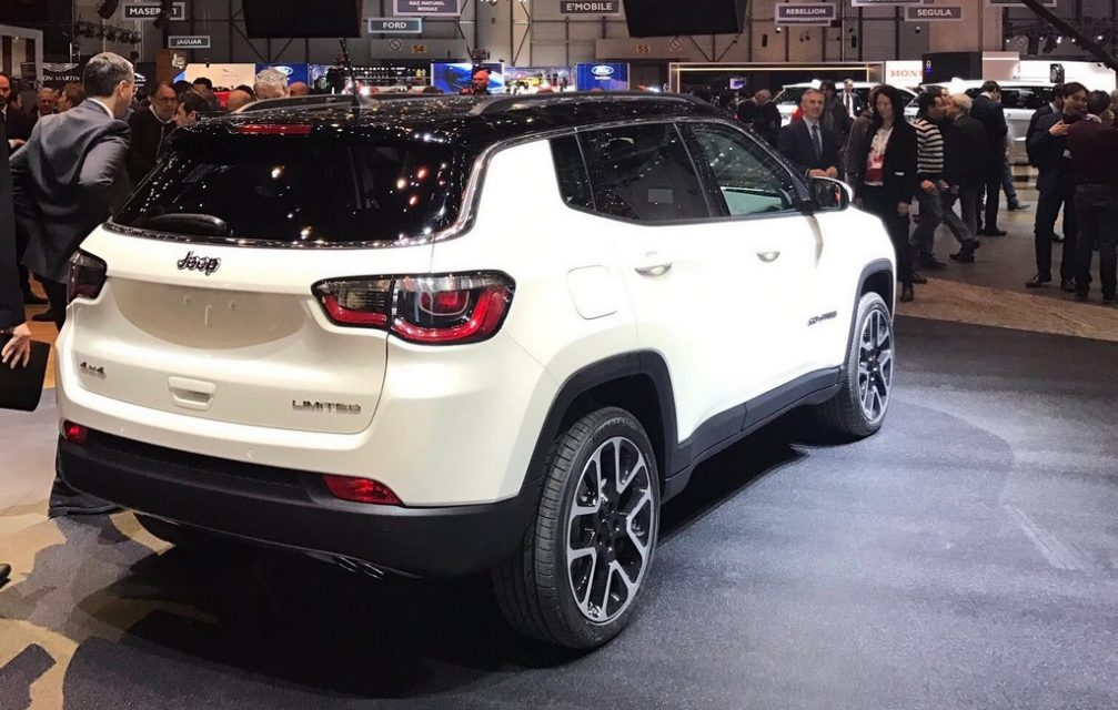 jeep compass 2018 price in india top model