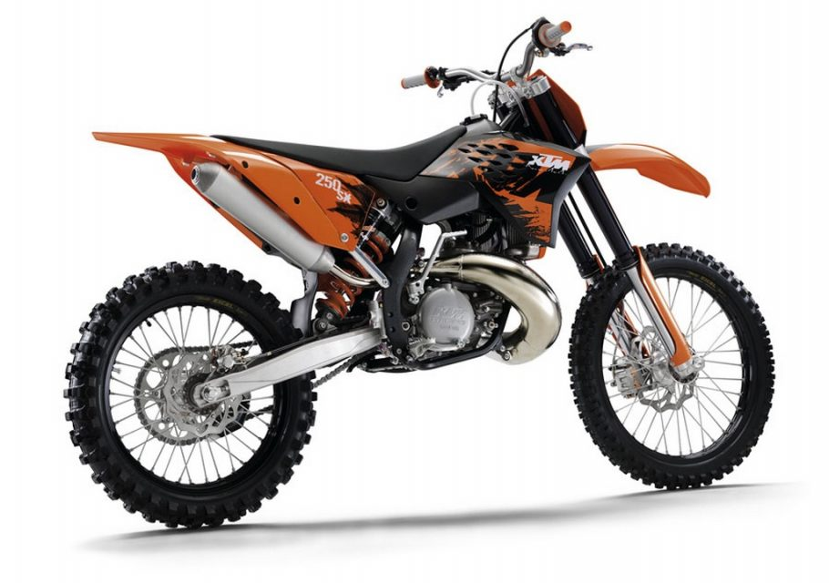 KTM two stroke fuel injected bikes 1