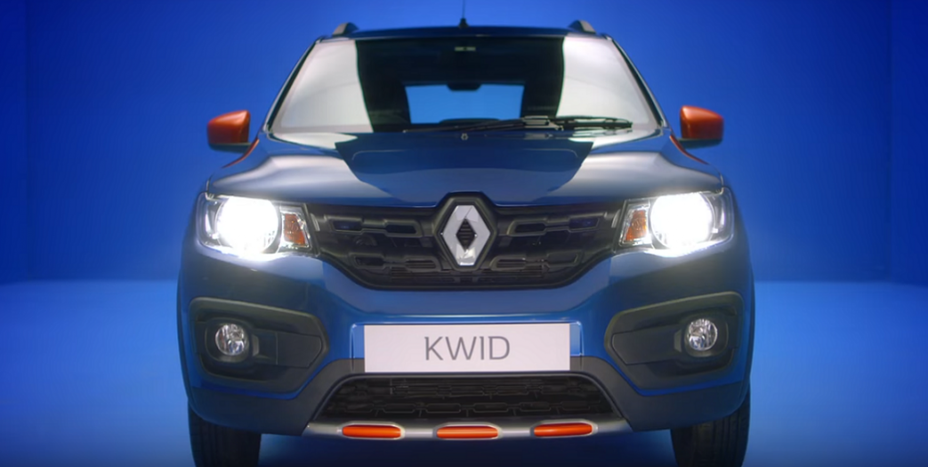 Kwid Climber Front Profile