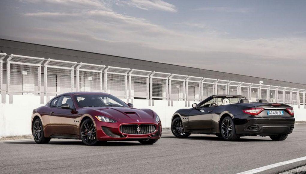 Maserati GranTurismo and GranCabrio Sport Special Editions