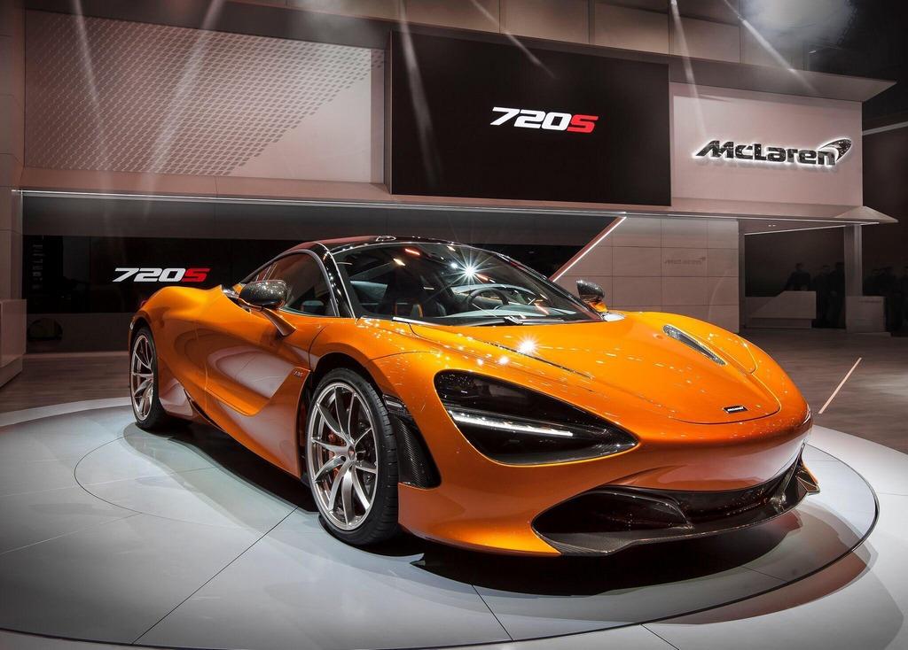McLaren 720S Geneva Debut