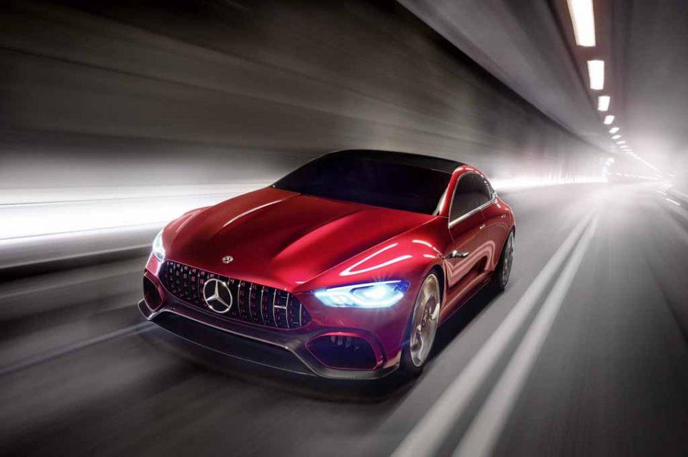 Mercedes-AMG unveils GT Concept at Geneva