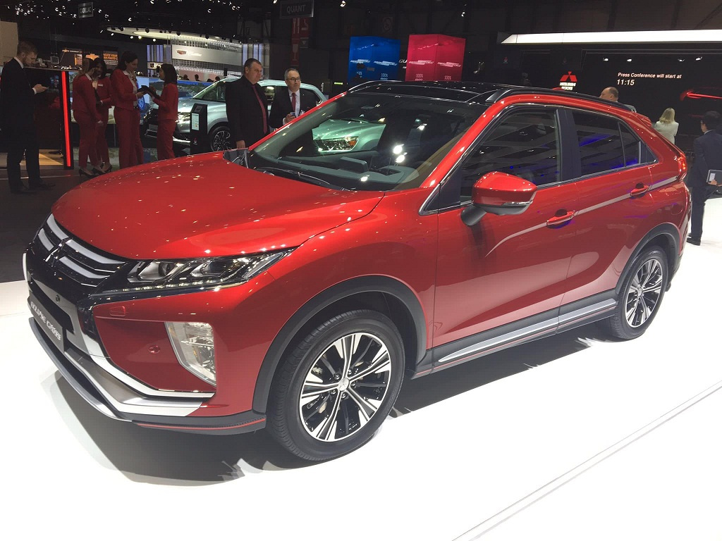Mitsubishi Intros Eclipse Cross at Geneva