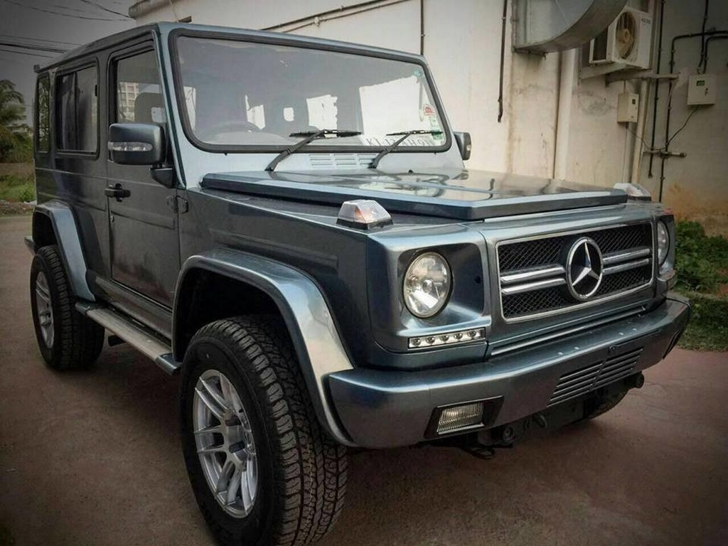 Force Gurkha Customised Into Mercedes G Class Looks Incredible