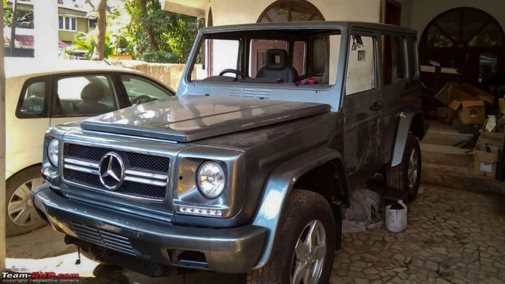 Modified Force Gurkha into G-Class 4