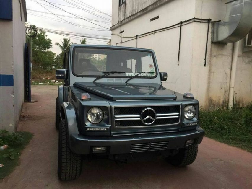 Modified Force Gurkha into G-Class
