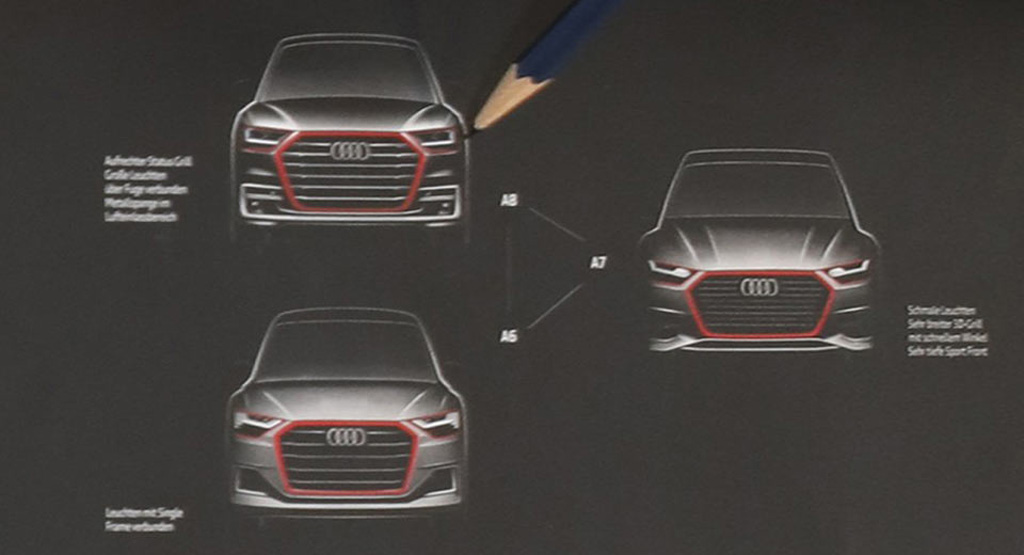 new generation Audi A6, A7 and A8