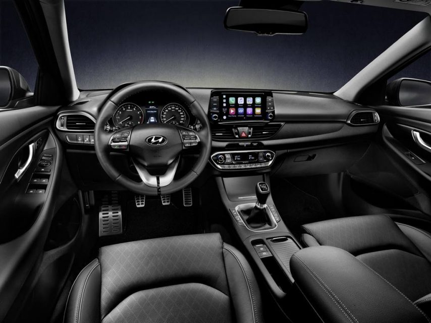 New Hyundai i30 Fastback Launched Interior