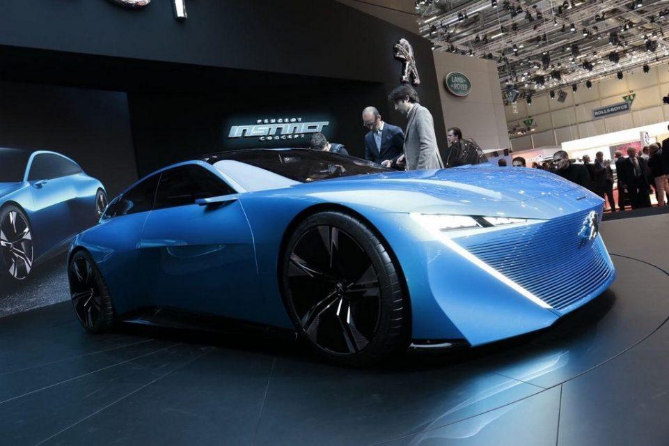 Peugeot Reveals Instinct Concept 6