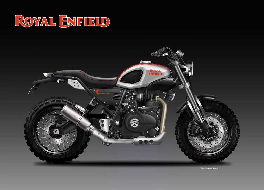 Royal Enfield 400 Cobra Is Himalayan Gone Rowdy