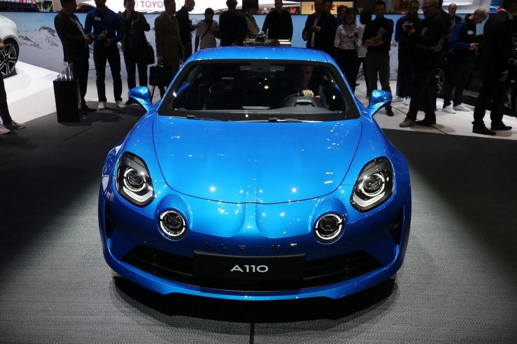 Renault Alpine A110 Sportscar Revealed In Geneva Rivals Porsche 718