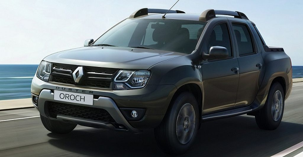 renault duster oroch pickup truck india launch price engine features interior rivals. Black Bedroom Furniture Sets. Home Design Ideas
